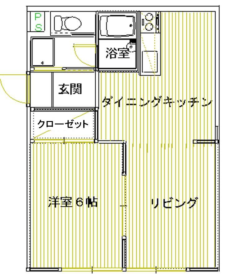 ロイヤルメゾン甲子園口Ⅲ 201号室