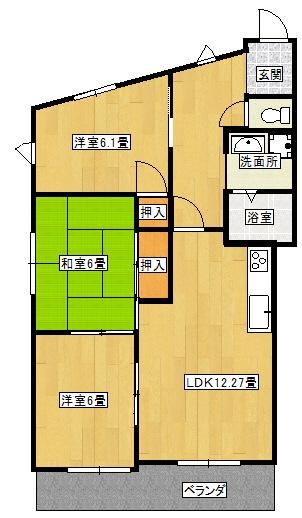 第3七耀マンション 401号室